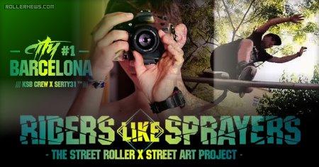 Fred Bukowski: Riders like Sprayers | Barcelona