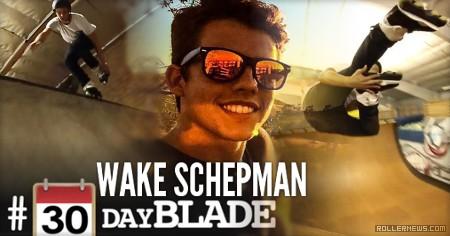 Wake Schepman: 30 Days of Blading (Month #1 Recap)