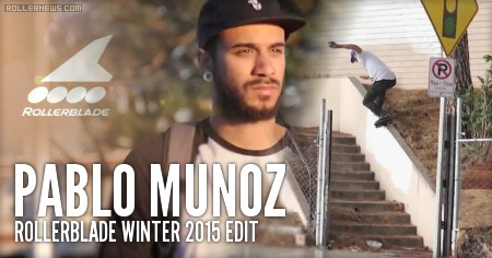 Pablo Munoz (NYC): Rollerblade Winter 2015 Edit