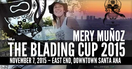 Mery Munoz (Spain): Trip to the Blading Cup 2015