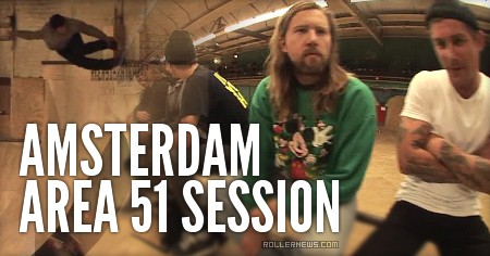 Amsterdam: Area 51 Session with Erik Bailey (2015)