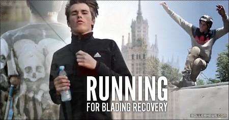 Arseny Polushkina (Russia): Running For Blading Recovery (2015) by Ilya Sukhenko