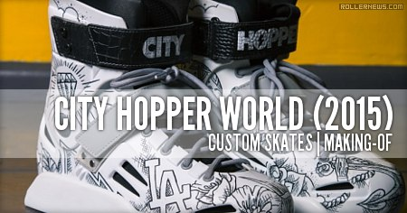 City Hopper: Skates by Angels in Flames (Making-of)