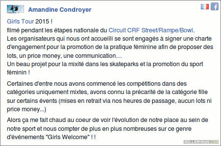Girls Tour 2015 (France)
