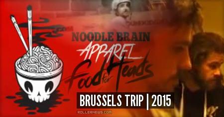 Noodle Brain: Brussels Trip by Jon Lee (2015)