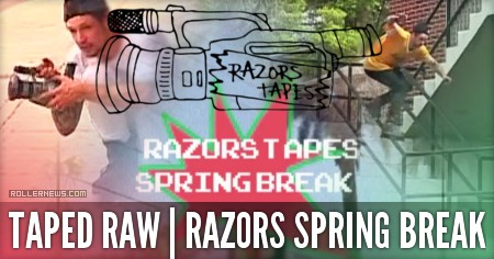 Razors Tapes Spring Break (2015) by Jeph Howard
