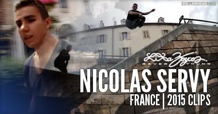 Nicolas Servy (France): 2015 Clips