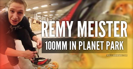 Remy Meister: 100MM @ Planet Park (Belgium)