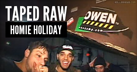Taped Raw: Homie Holiday (2015) by Jeph Howard