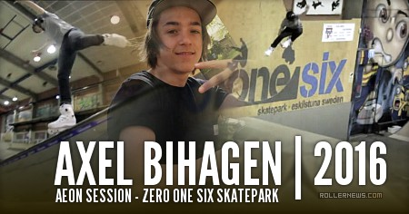 Axel Bihagen (15, Sweden): Aeon Session (2015)