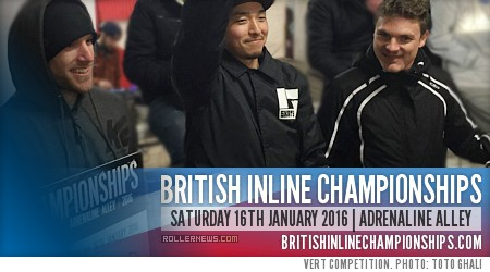British Inline Championships 2016: Raw Footage