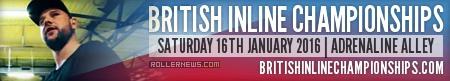 David Wing @ British Inline Championships 2016