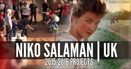 Niko Salaman (UK): 2015-2016 Projects