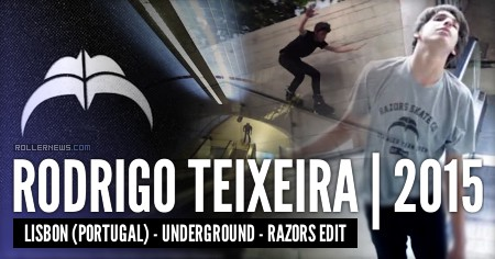 Rodrigo Teixeira (Portugal): Underground, 2015 Edit