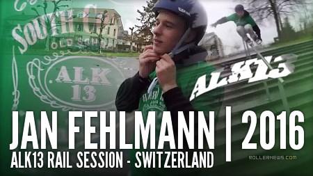 Jan Fehlmann (Switzerland): Alk13 Rail Session (2016)