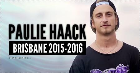 Paulie Haack: Brisbane (Australia): 2015-2016