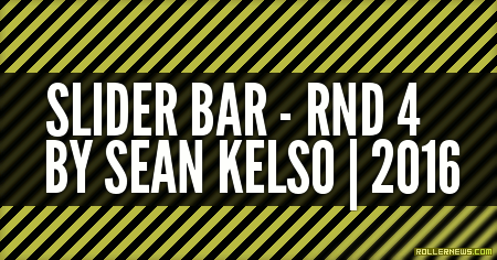 Slider Bar RND4 (2016) by Sean Kelso