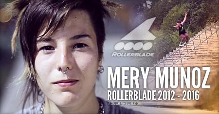 Mery Munoz: Rollerblade Compilation 2012-2016