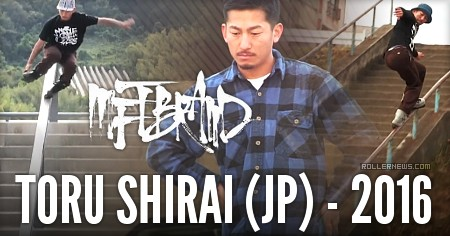 Toru Shirai (30, Japan): MFTBrand Edit (2016)
