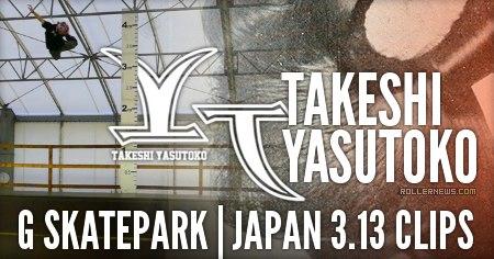 Takeshi Yasutoko: G Skatepark 3.13 Clips (2016)