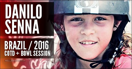 Danilo Senna (10, Brazil): 900 Clip + Bowl Session