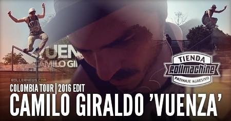 Camilo Giraldo Vuenza (32): Colombia Tour (2016)