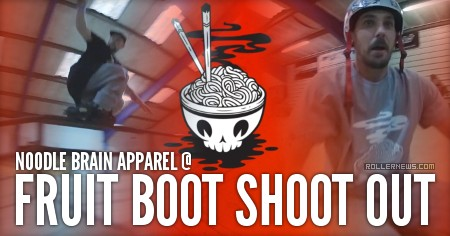 Noodle Brain Apparel @ Fruit Boot Shoot Out