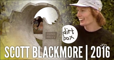 Scott Blackmore: Dirt Box, 2015 Edit
