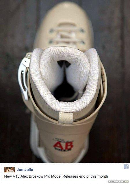 Valo V13 - Alex Broskow Pro Skates (Cream Jawns)