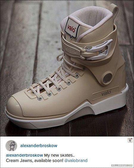 Valo V13 - Alex Broskow Pro Skates (Cream Jawns
