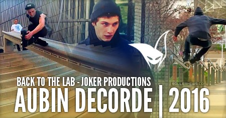 Aubin Decorde (France): Back to the lab (2015)