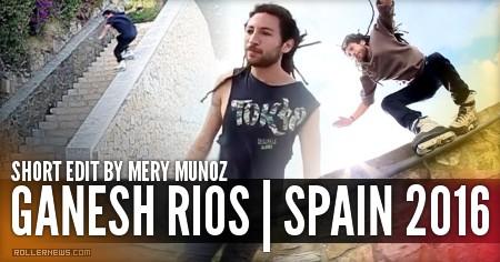 Ganesh Rios (Spain): Short Edit (2016) by Mery Munoz