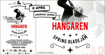 Hangaren Spring Blade Jam 2016