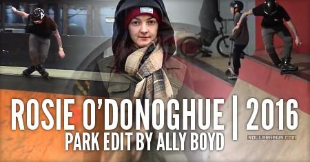 Rosie O'Donoghue (UK): Park Edit (2016) by Ally Boyd