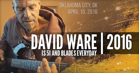 Dave Ware is 51 and Blades Everyday