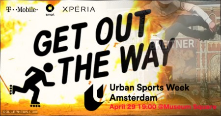 Get Out The Way Contest (Amsterdam, 2016)