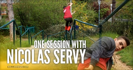 One session with Nicolas Servy (2016, France)