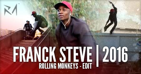 Franck Steve (France): Rolling Monkeys (2016)