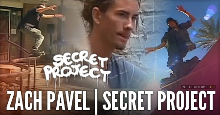 Zach Pavel: Secret Project (2015) by Geoff Phillip
