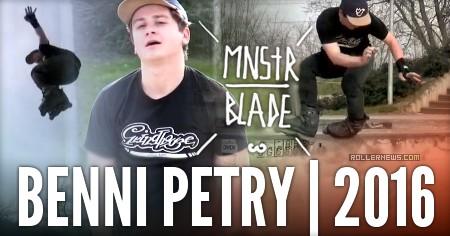 Benni Petry (Germany): Mnstr Blade Clips by Jo Zenk