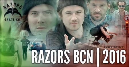 Razors BCN (2016) by Jonas Hansson