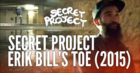 Secret Project: Erik Bill's Toe (2015)