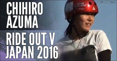 Chihiro Azuma (Japan): Ride Out 2016 (1st place)