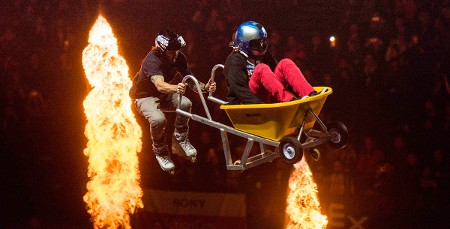 Chris Haffey: featured in the Top 5 Photos of Nitro Circus Contraptions in Action