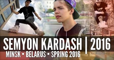 Semyon Kardash (Minsk, Belarus): Spring 2016, Clips