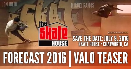 Forecast Trade Show 2016: Valo Brand Teaser with Jon Julio, Miguel Ramos & Friends