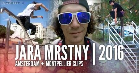Jara Mrstny: Amsterdam + Montpellier Trip