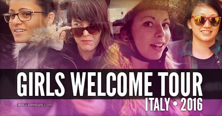 Girls Welcome Tour (Italy, 2016):  Unlabelled Edit