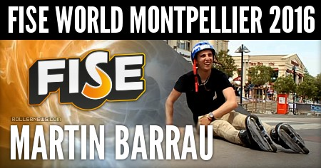 Martin Barrau (17): FISE World Montpellier 2016 (Clips)