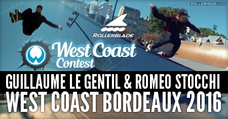 Guillaume Le Gentil & Romeo Stocchi at West Coast Contest 2016 (Bordeaux, France): Clips